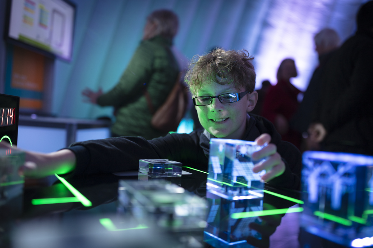 Siemens Children's Workshop at Frequency Festival 2019. Photo credit Electric Egg.